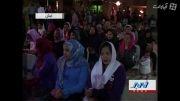 جشن میلاد مسیح توسط گردشگران خارجی در کیش