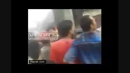 سقوط هواپیمای هرکولس در اندونزی ...