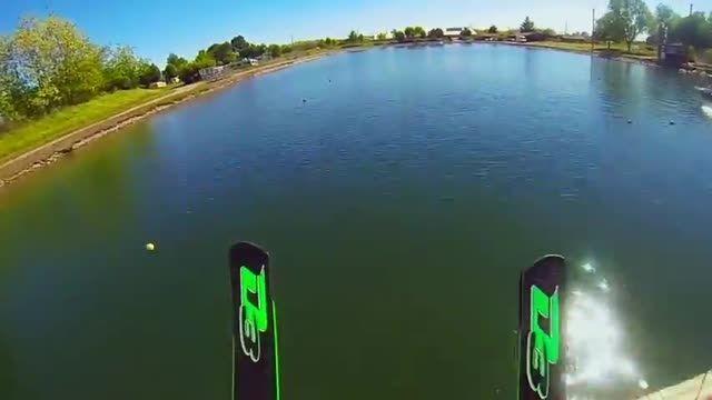لذت اسکی روی آب با کامارو/فیلم قهرمان اسکی آب/جهان ورزش