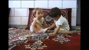 شکستن پای دخترخاله توسط پسرخاله