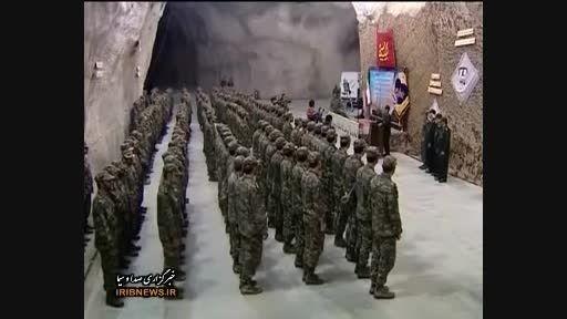 فیلم شهر موشک زیر زمینی سپاه