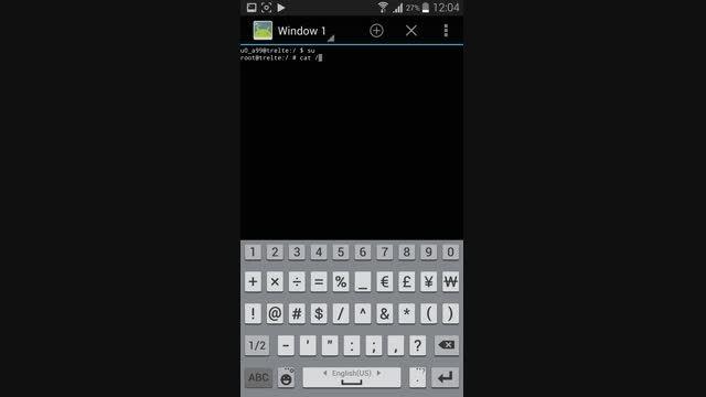 نمایش پسورد های ذخیره شده وایرلس در اندروید