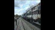 برخورد خونین قطار با مسافران ایستگاه در هند