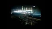 نور در مسجد النبی