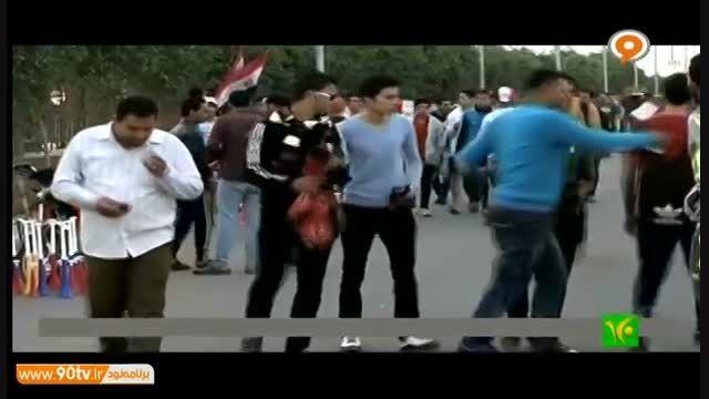 درگیری و کشته شدن هواداران فوتبال در مصر