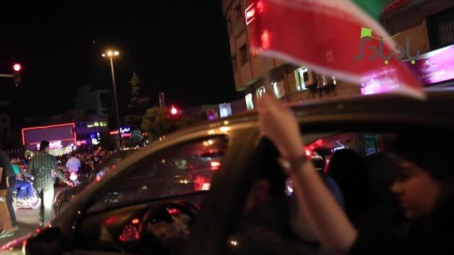 ویدئوی اختصاصی بادبادک از شادمانی شهروندان تهرانی