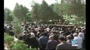 گزارش شبکه تلویزیونی زاگرس از مراسم تشییع مادر شهدای سنندج