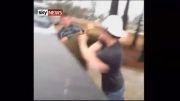 زد و خورد خیابانی در امریکا