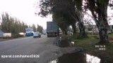 راننده کور و تصادف