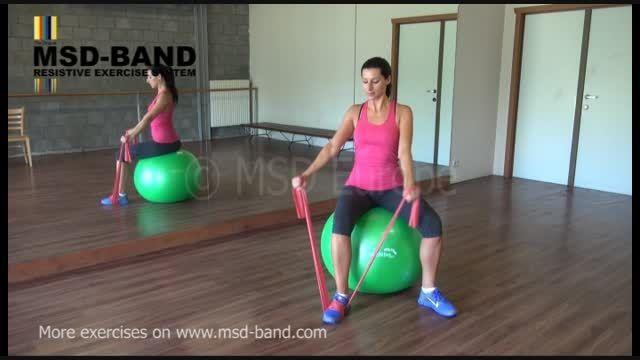 تمرین شماره 3- تقویت عضلات شانه