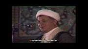 سخنرانی هاشمی رفسنجانی در خصوص سالگرد شهید بهشتی 1370