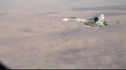 رهگیری هواپیمای P3 ناتو توسط فلنکر کاملا مسلح روسیه