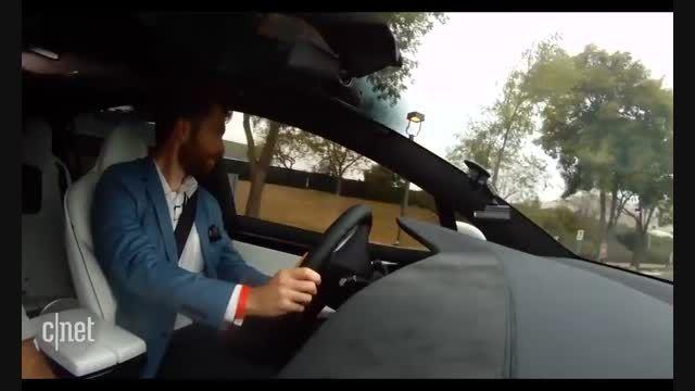رونمایی از خودروی SUV سری X از تسلا