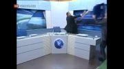 دعوای و کتک کاری عرب ها در پخش زنده تلوزیونی!...