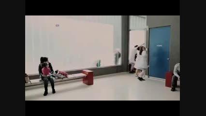 دلقک در بیمارستان کودکان