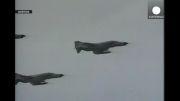 حمله نیروی هوایی ارتش ایران به مواضع داعش