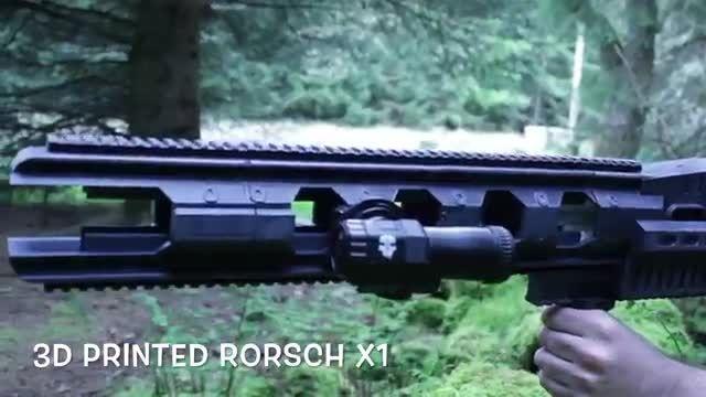 ساخت اسلحه دوربین دار با پرینتر سه بعدی