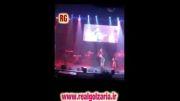 ویدیو کامل رضا گلزار در کنسرت پاشایی و بنیامین