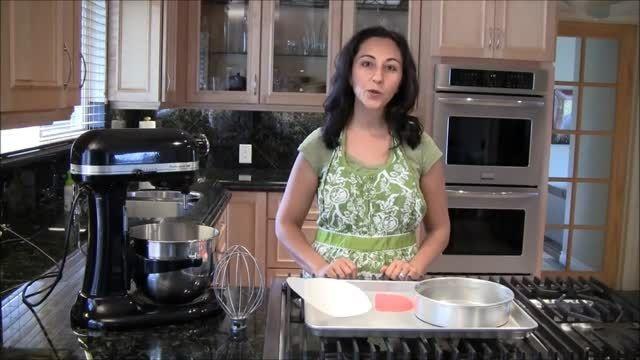 کیک شکلاتی رژیمی بدون کره توسط نادیا