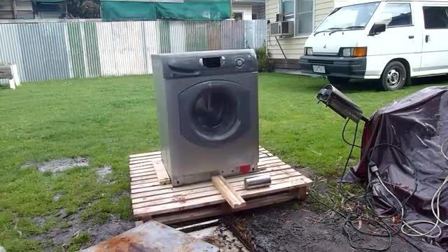 چگونه یک ماشین لباس شویی را خراب کنیم؟!!