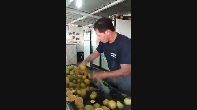 حرفه ای ترین راه برای بصف کردن لیمو ترش