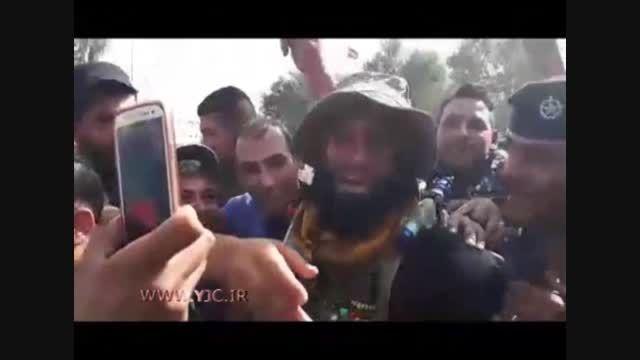 ابوعزرائیل داعشی ها را به چالش کشید