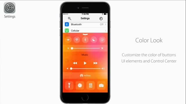 آیا iOS 9 چنین شکلی خواهد داشت؟ - iSib