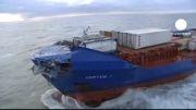 تصادف مرگبار دو کشتی باربری در دریای شمال