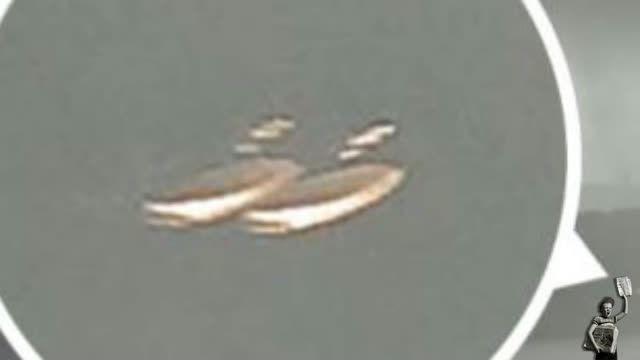 دو بشقاب پرنده به دنبال هیولای لاچ نس می گردند !