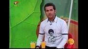 لباس عجیب مجری تلویزیون ایران!