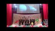 سرود مرگ بر آمریکا از گروه هنری مصباح الهدی لارستان