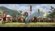 تیر اندازی Merida در انیمیشن زیبای  Brave با کیفیت Full HD