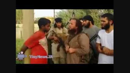 جدید ترین شیوه اعدام داعش