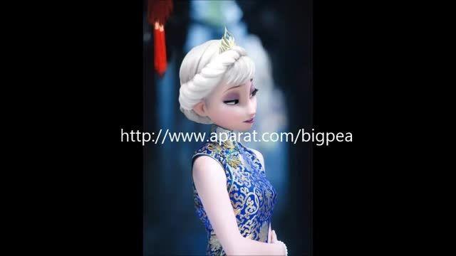 السای مدرن خوشگل با لباس خوشگل کشور چین!