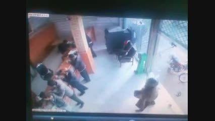 فیلم دزدی بانک در درچه اصفهان