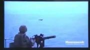 فیلم واقعی از رودرویی آمریکا و قایق ایرانی در تنگه هرمز!!!