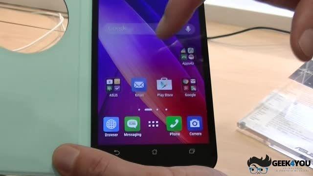 قابلیت های کاور هوشمند و ZenMotion گوشی Asus ZenFone 2