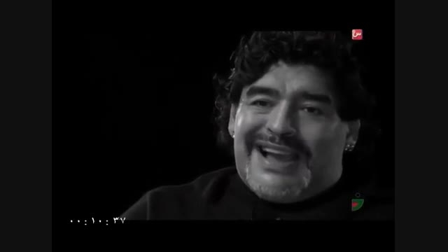 مصاحبه رامبد جوان با مارادونا در برنامه خندوانه