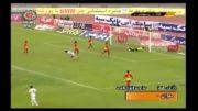 خلاصه دیدار فولاد خوزستان(2) و پرسپولیس تهران(1) - 21 دی 92