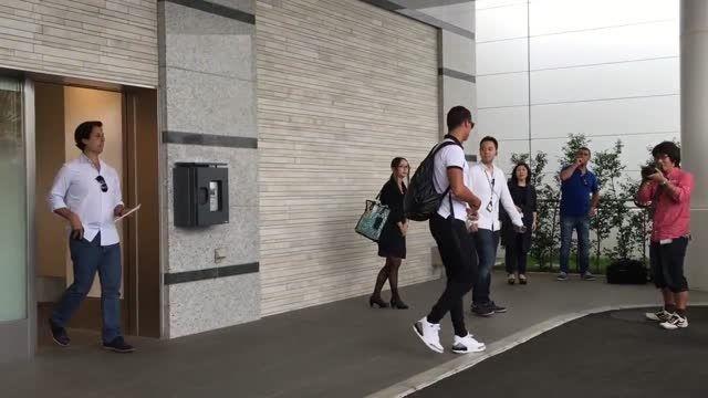 سفر کریستیانو رونالدو به توکیو ژاپن (2015.07.06)
