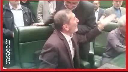 گریه زارعی، نماینده مجلس پس از تصویب برجام Saraneh.com