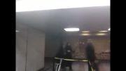 مترو دروازه دولت چکه کردن آب.