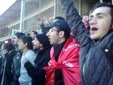 تشویق طرفداران تراکتور در آستانه ی بازی با سپاهان