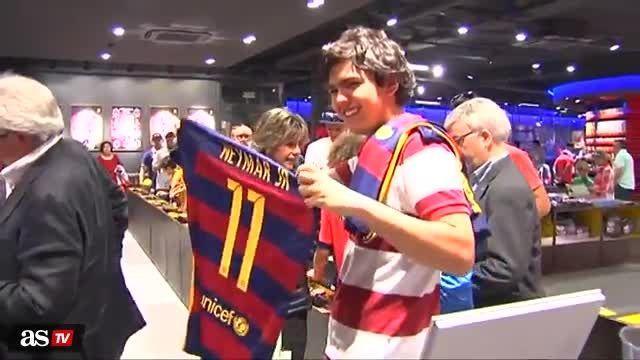 فروش پیراهن جدید بارسلونا آغاز شد