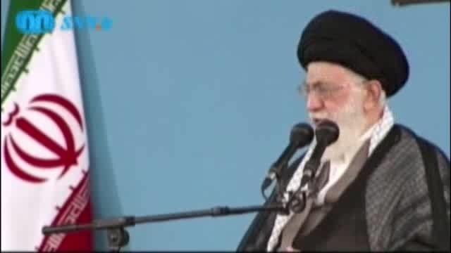 تحریف شخصیت امام حسین (ع) توسط حسن روحانی و پاسخ رهبری