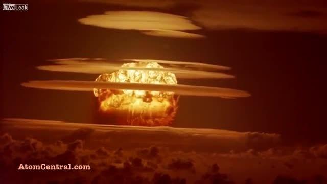 تست سلاح هسته ای