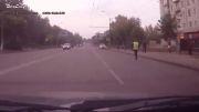 تصادف فرار دستگیری!