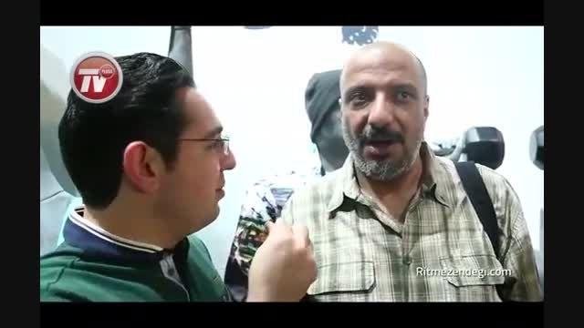 رضا گلزار در مهمانی علی دایی و همسرش در نیاوران