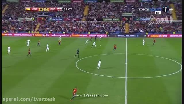 اسپانیا 2-0 انگلیس