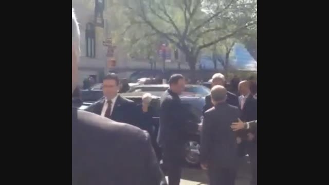 جان کری وزیر خارجه آمریکا در محل اقامت سفیر ایران